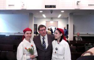Jüri Trei, Aima ja Naira Kazarjan