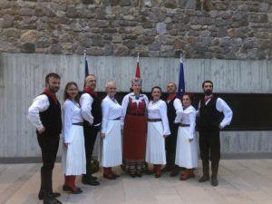 tantsijad koos Marina Mõttusega