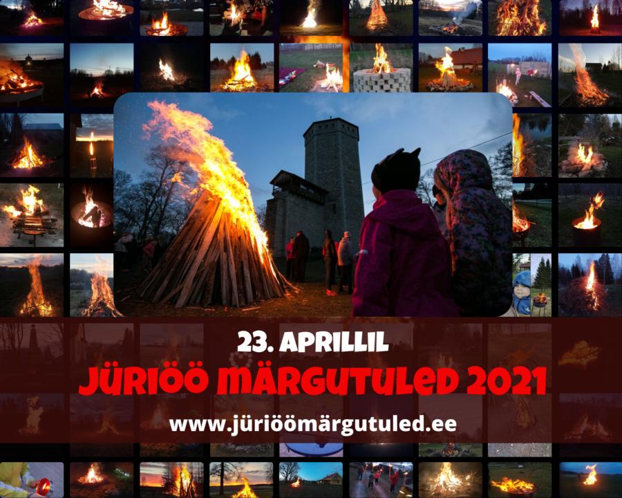Jüriöö märgutuled 2021