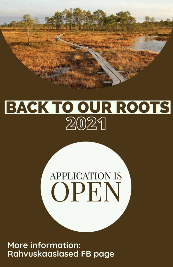 Tagasi juurte juurde: noortevahetus 2021